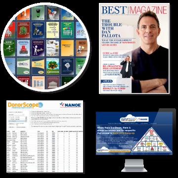 NANOE - Best Practice Magazine | Dan Pallotta, Jimmy LaRose